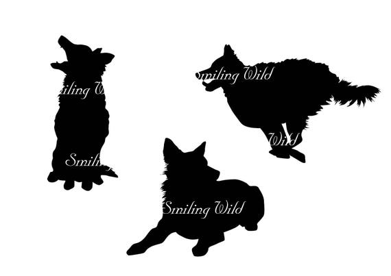 mudi dog svg silhouette running dog clipart printable vector graphic art hungarian mudi instant download png file commercial use digital