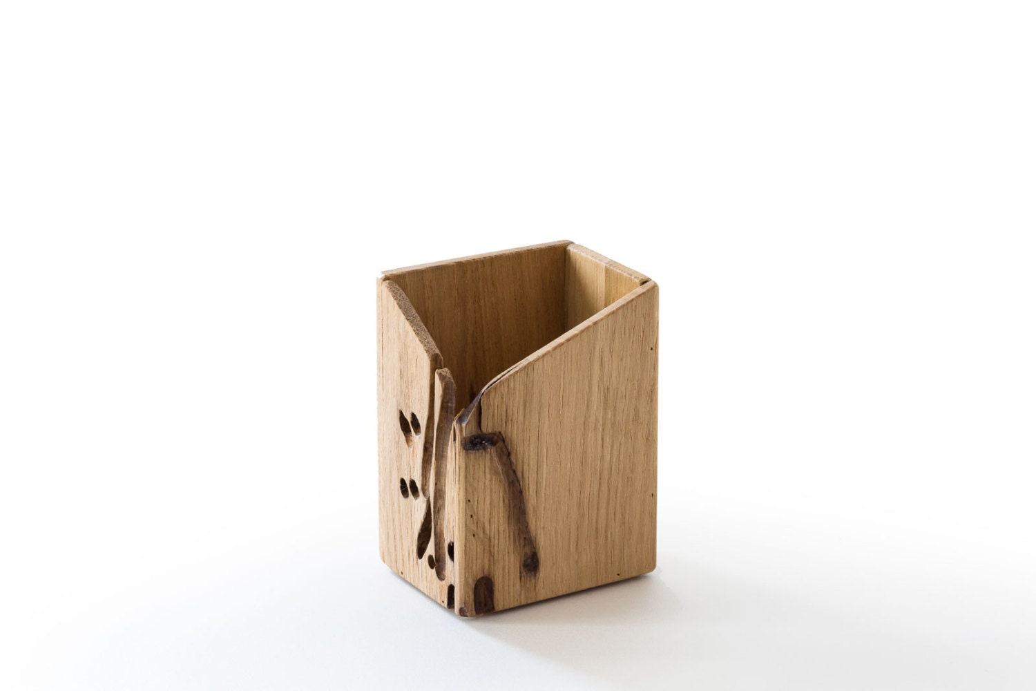 Wooden Desk Penholder | Office Accessories | Venice Souvenirs