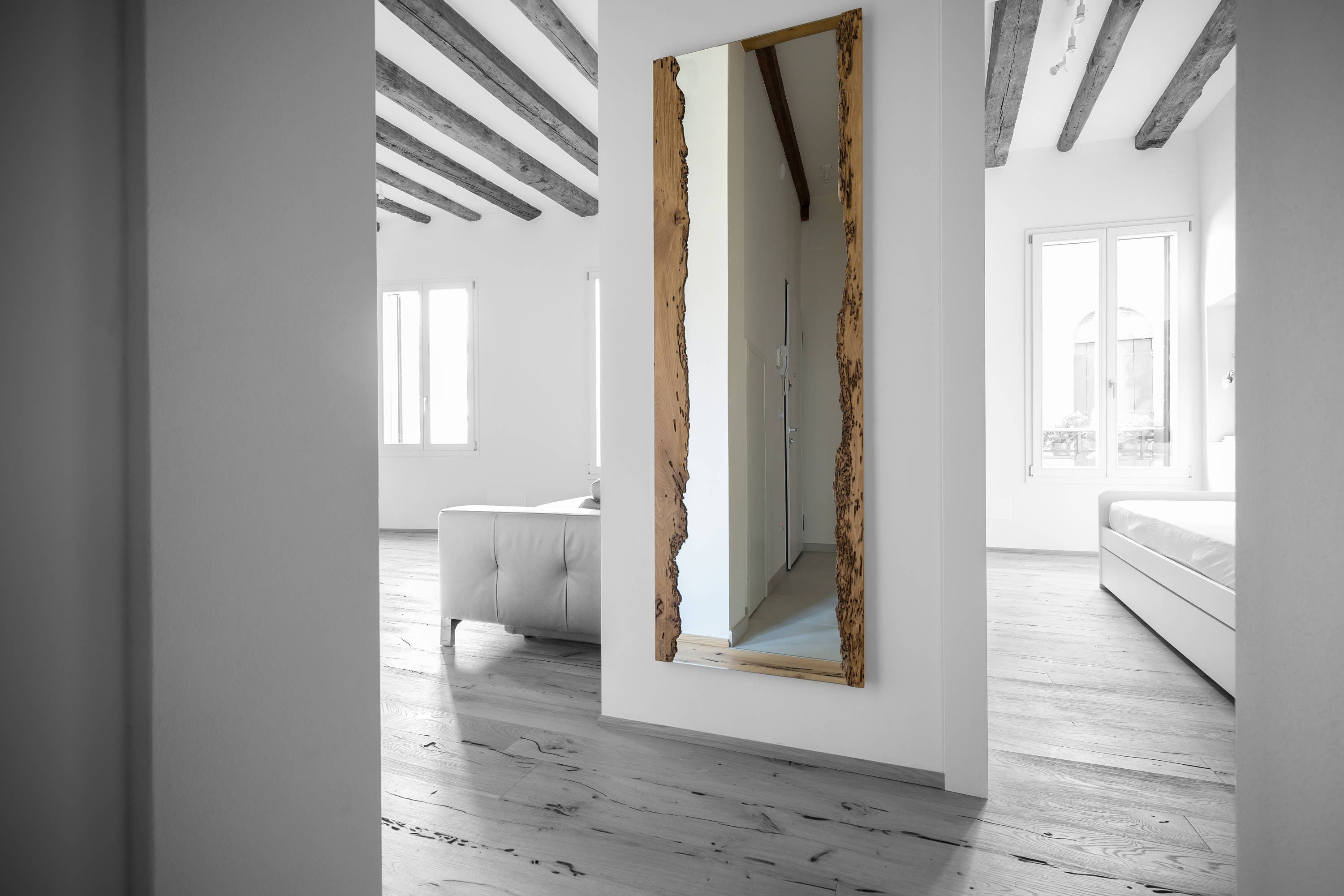 Wooden Mirror 1600x600mm