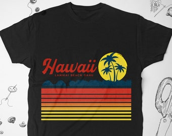 7406eb6bb Hawaii shirt Vintage for Men Women Girl tee t shirt tshirt Vacation Summer  Graphic shirt Tropical vtg Hawaiian Unisex Gift idea for him her