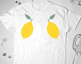 58c678ad0e56 Lemons shirt Women Girl Men t shirt tshirt Youth Summer Aesthetic Graphic  tee Funny Tumblr Lady Teens Unisex Boobs Gift idea for him her