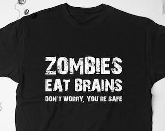 293af054 Zombie Shirt Mens Funny Tshirt Graphic Tee Sarcasm Shirt Zombie Tshirt Funny  Sayings Shirt Women Tshirt Tee For Adults Mens Tshirt 104
