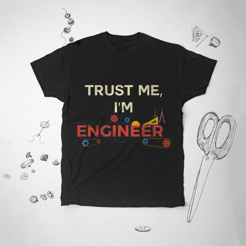 dc84c2e8 Funny Engineer tee shirt Men tshirt Engineer shirt Graphic   Etsy