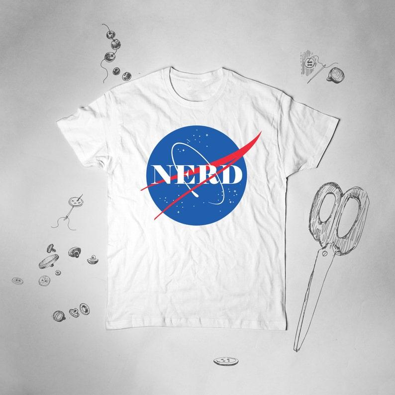Nerd Shirt Mens Funny Tshirt Nasa T Shirt NASA T-shirt Graphic Tee for Men  Unise... Nerd Shirt Mens Funny Tshirt Nasa T Shirt NASA T-shirt Graphic Tee  for ... 1661a4817