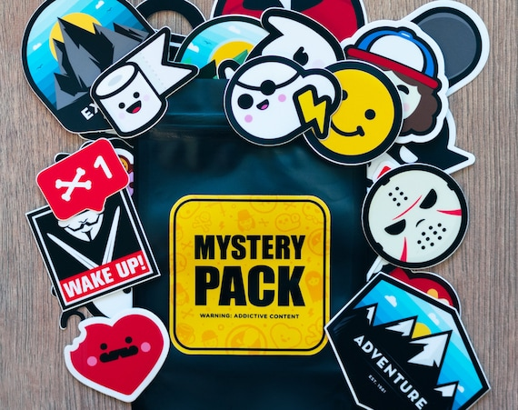 Mystery Pack, Mystery Stickers Pack, Waterbottle Stickers, Computer Stickers, Kawaii Mystery Bag, Planner Stickers, Cocorino Stickers