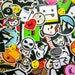 tcain reviewed DELUXE Collection STICKERS 50+ Stickers, laptop sticker, Vinyl Decal, Macbook Sticker, Custom Stickers, buy stickers, Cocorino stickers