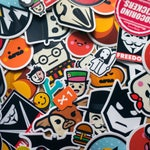 Full Collection of STICKERS, Cool Decal, 35+ Stickers, Vinyl Laptop Decal, Skateboard sticker, custom stickers, buy stickers, round stickers