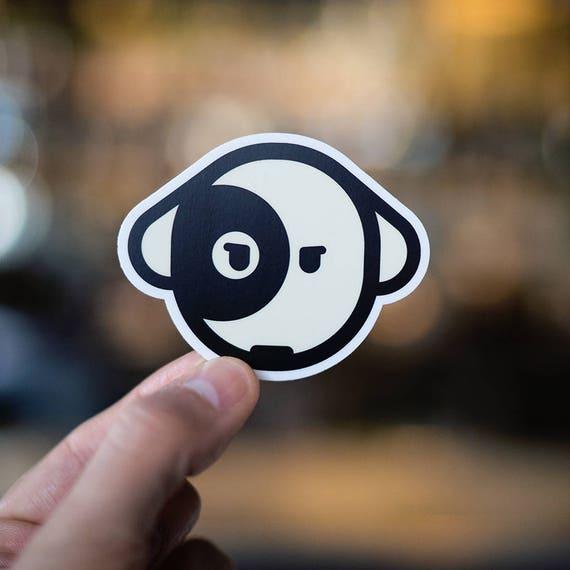 Dog Sticker, dog stickers, pet alert stickers, dog decals, dog bumper stickers, dog car stickers, dog paw stickers, dog car decals, Snatch