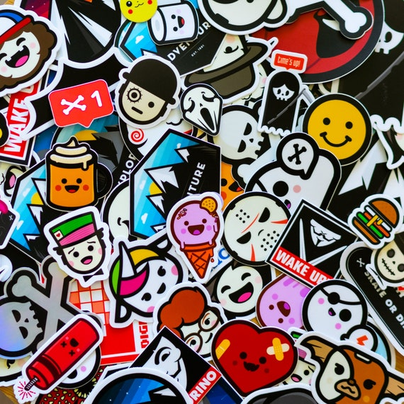 DELUXE Collection STICKERS 50+ Stickers, laptop sticker, Vinyl Decal, Macbook Sticker, Custom Stickers, Buy stickers, Cocorino stickers