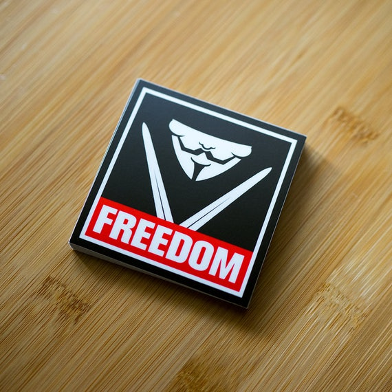 New Freedom Stickers, Custom Laptop Sticker, Anonymous Laptop sticker, Guy Fawkes, decal for Macbooks, sticker stickers, Christmas stickers