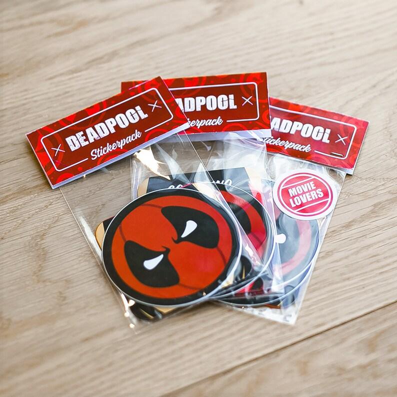 Deadpool decal Deadpool Stickers Cool Stickers Deadpool image 0