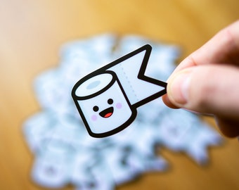 Cute Stickers, Kawaii Stickers, Wacom Stickers, Stickers for Graphic Designers, Toilet Paper Stickers, Disney Stickers, Stickers for skaters