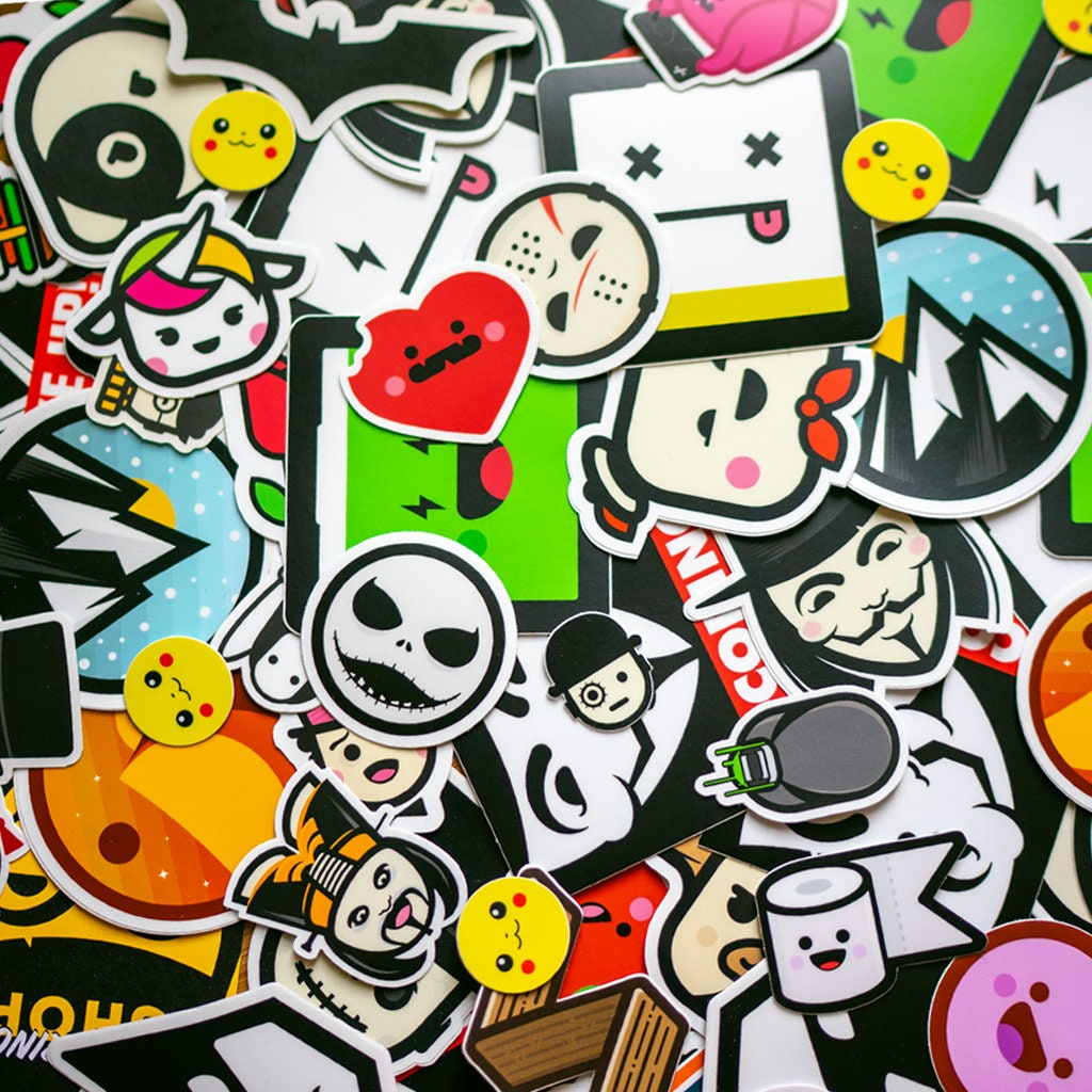 Deluxe collection stickers 50 stickers laptop sticker vinyl decal macbook sticker custom stickers buy stickers cocorino stickers