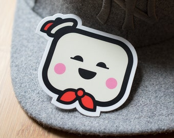 Mr. Stay Puft Marshmallow Man Sticker, Ghostbusters Stickers, Halloween Decal, Sticker for iPhone, Gross Sticker, Marshmallow sticker, Ghost