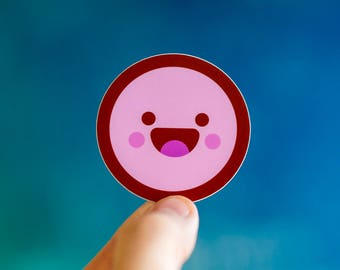 Happy Candy Sticker, iPhone Stickers, Stickers for iPhone back, iPhone stickers, tiny sticker, buy cute stickers, cute sticker for laptop
