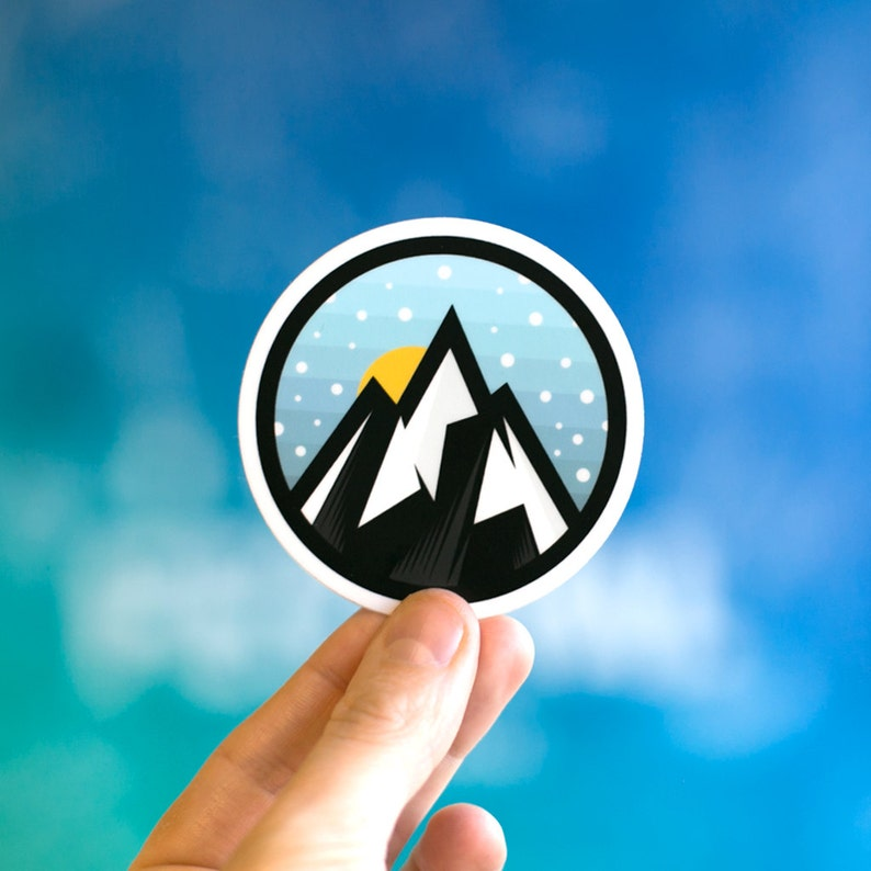 Adventure Sticker Laptop Stickers Cool Stickers Cool Laptop image 0
