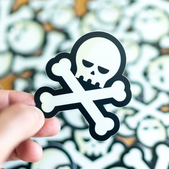 Evil Skull Stickers, stencils, Cocorino Stickers, Halloween, Skull, Zombie, Skeleton, Punisher, Car, Stickers for Motorcycle, Sugar Skull
