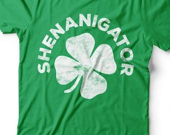 Four Leaf Clover St Patricks Day Unisex Hoodie Sweatshirt Obaby