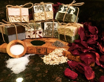 Natural Soap Sampler