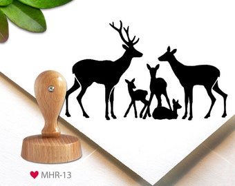stamp WR-10 gift tags a beautiful Christmas time -Christmas christmas Stempel 3.7 cm