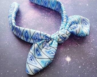 Snow Princess Anna Frozen Fever Inspired Bow