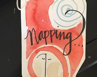 Napping Sign