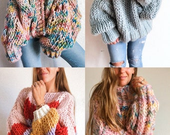 Happy Love Co Winter Sweater Collection Knitting Patterns