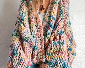 Lost Road Trip Cardigan wool sweater knitting pattern