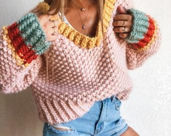 Feelin' like Fall Jumper sweater knitting pattern