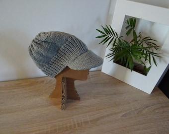 Cap - Hat in wool Flint