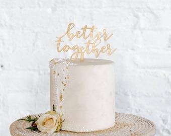 Besser zusammen Kuchen-Deckel
