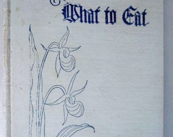 What to Eat Cook Book 1923 Women's Auxiliary & Guild of Gethsemane Episcopal Church - Minneapolis, Minnesota MN - Cookbook, Recipes