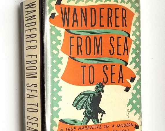 Wanderer From Sea to Sea: Narrative of a Modern Man in Search of His Soul by Maarten Matisse 1936 1st Edition Hardcover HC w/ Dust Jacket