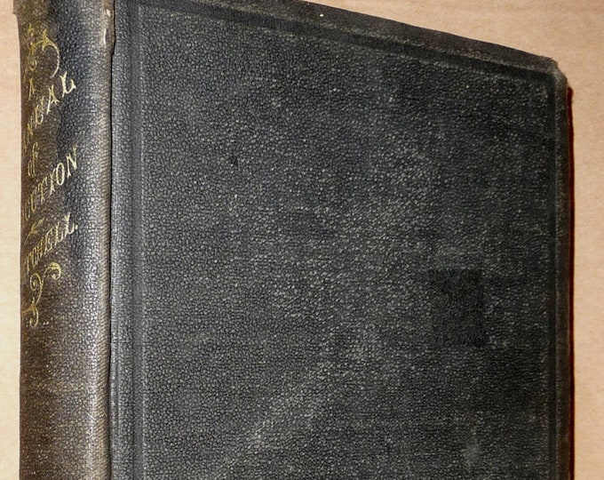 Manual of Elocution Founded Upon Philosophy of the Human Voice 1871 by M.S. Mitchell - Antique Speech Enunciation Pronunciation