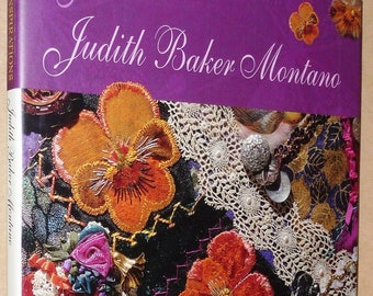 Judith Baker Montano Art & Inspirations SIGNED 1st Edition Hardcover HC w/ Dust Jacket DJ 1997 Sewing Quilting