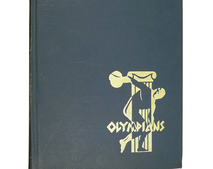Manual Arts High School, Los Angeles 1941 Yearbook - Olympians - California CA + 4 class pics ID'd