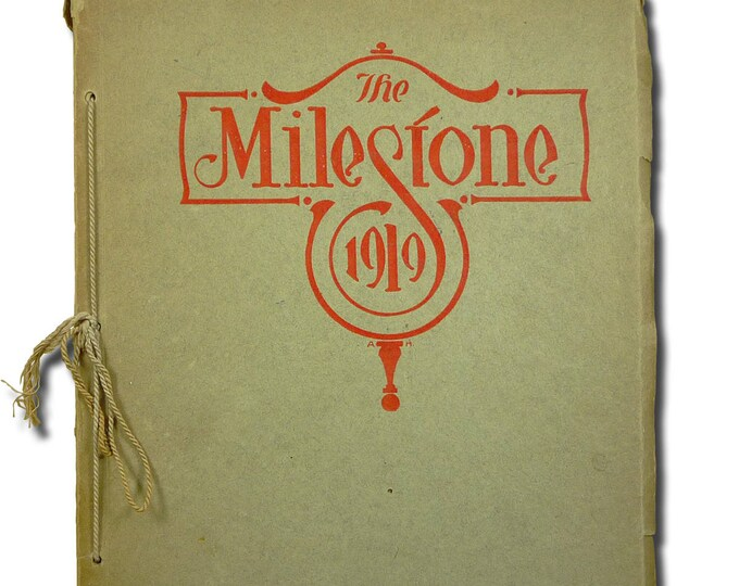 Norfolk High School Yearbook (Annual) 1919 - The Milestone - Madison County - NE Nebraska