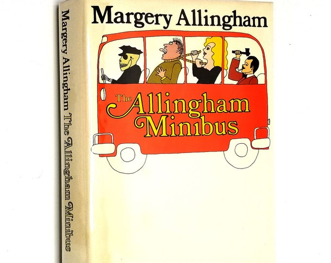 The Allingham Minibus by Margery Allingham 1973 1st US Edition Hardcover HC w/ Dust Jacket DJ - William Morrow & Co. Mystery Short Stories