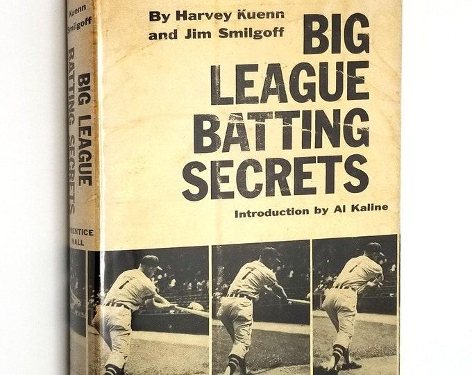Big League Batting Secrets by Harvey Kuenn & James Smilgoff 1958 1st Edition Hardcover HC w/ Dust Jacket DJ - Major League Baseball