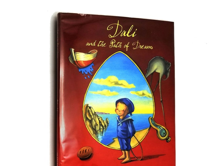 Dali and the Path of Dreams by Anna Obiols illustrated by Joan Subirana Hardcover HC w/ Dust Jacket DJ 2004