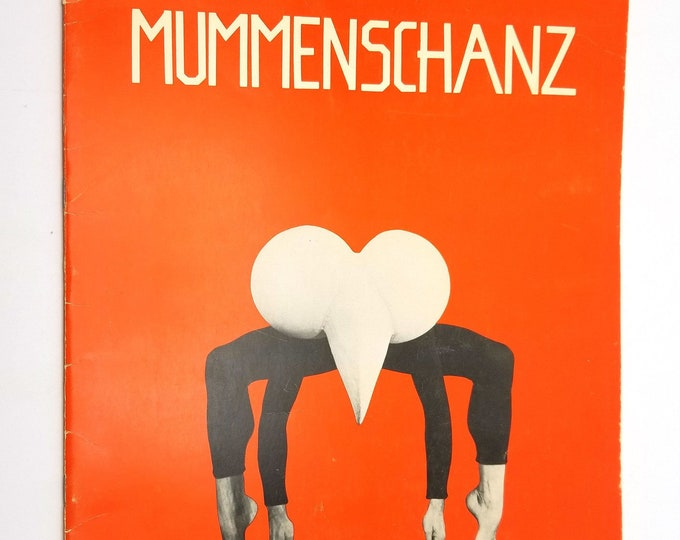 Arthur Shafman Int'l Ltd Presents Mummenschanz (Program) 1977 New York Performance
