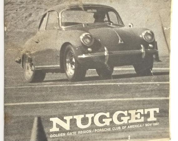 Nugget: Golden Gate Region Porsche Club of America, November 1967 Newsletter