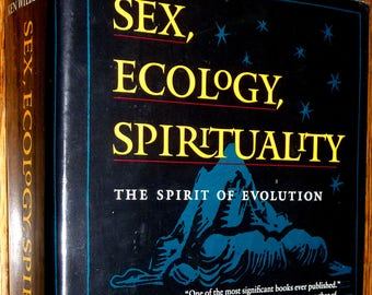 Sex, Ecology, Spirituality: The Spirit of Evolution by Ken Wilber Hardcover HC w/ Dust Jacket 1995 Shambhala