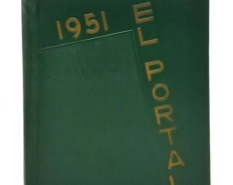 Verdugo Hills High School Yearbook (Annual) 1951 - El Portal - Tujunga Los Angeles, California CA