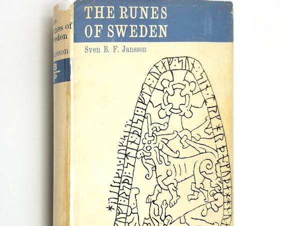 The Runes of Sweden by Sven B.F. Jansson Hardcover HC w/ Dust Jacket DJ 1962 Bedminster Press
