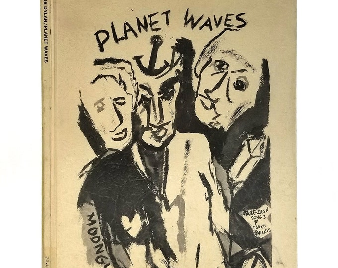 Bob Dylan Songbook Sheet Music: Planet Waves 1974 Rare Hardcover Edition - Ram's Horn Music