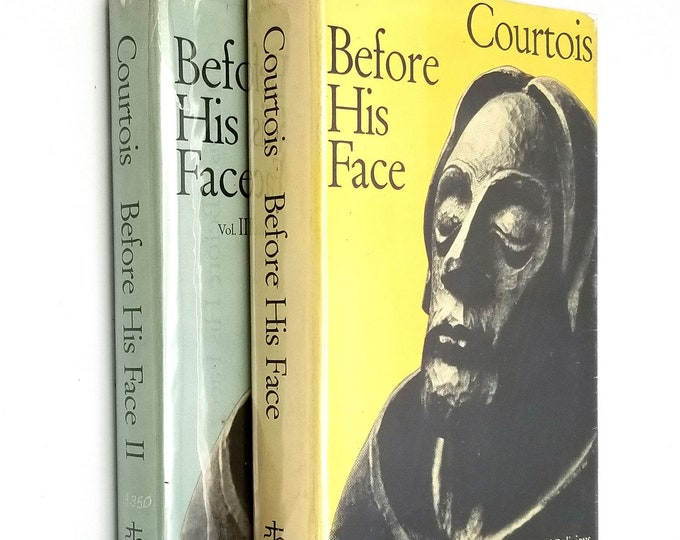 Before His Face: Meditations for Priests and Religious Vol 1 & 2 (Two Vol Set) Gaston Courtois 1962 HC/DJ Catholic Prayer Valiant Hearts