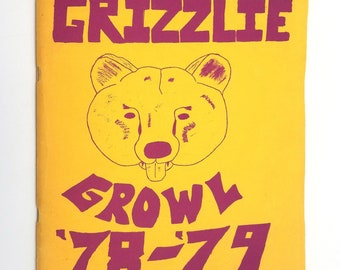 Gaiser Junior High School Yearbook - '78-'79 Grizzlie Growl (Class of '82) Vancouver, Washington WA - Clark County