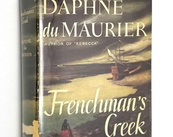 Frenchman's Creek by Daphne du Maurier 1st Edition Hardcover HC w/ Dust Jacket DJ 1942 Doubleday Doran - Ex Library