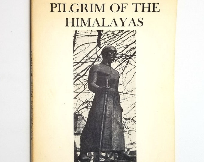Pilgrim of the Himalayas: Life & Works of Discoverer of Tibetan Buddhism by Edmond Bordeaux Szekely Soft Cover Booklet 1974 Academy Books
